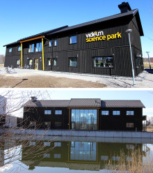 Invigning av hus Echo i Videum Science Park