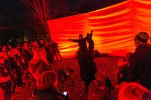 Ett upplyst Halmstad årets tema på Ljusfesten