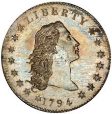 Unikt dollarmynt visas på Myntkabinettet
