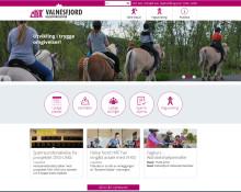 VHSS lanserer ny nettside