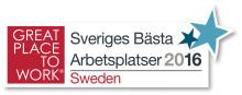 Tre tog återigen silver när Sveriges bästa arbetsplats korades