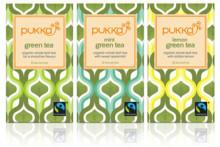 Tre goda gröna teer från Pukka – ekologiska och rättvisemärkta