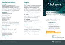 Flyer TI-Fachtagung 2020