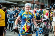 Henny en av 20 000 cyklister runt Vättern