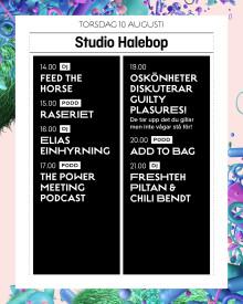 Halebop introducerar en podcast-scen under årets Way Out West festival