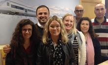 Bombardier tar emot Mimers språkpraktikanter