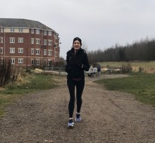 Doncaster woman takes on London Marathon to mark five years since husband's stroke
