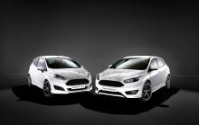 Sportsligt design til en lav pris – Fords nye ST-Line fremhæver dynamikken i Fiesta og Focus