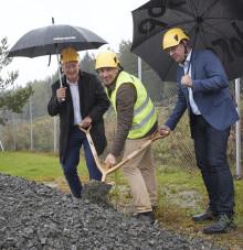 Hornbach bygger nytt varuhus i Borås – Första spadtaget på nya handelsområdet
