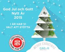 Läkare Utan Gränser får Cad-Qs och Symetris julgåva