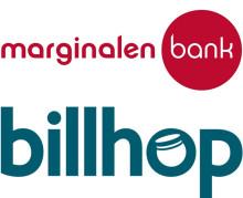 Billhop och Marginalen Bank lanserar samarbete