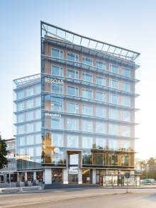 Danderyds Centrums kontorshus nominerat till prestigefyllt miljöpris