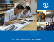 SCHOLARSHIPS OFFERED AT KIS INTERNATIONAL SCHOOL FOR IB DIPLOMA AND IB MIDDLE YEARS PROGRAMME
