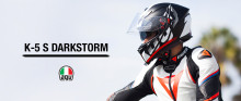AGV K-5 S Darkstorm