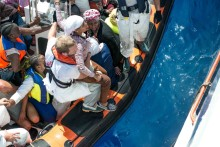 Medelhavet: Människor drunknar inom några sekunder