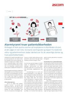 Artikel - Alarmtyranni truer patientsikkerheden