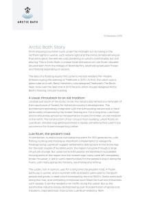Arctic Bath short story