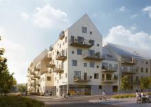FOJAB arkitekter har ritat nya bostadsområdet Aromalund
