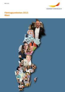 Rapport 2015 Företagsamhet Riket