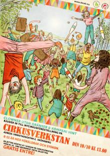 Clowner utan Gränser bjuder in till öppen föreställning med Kompani Hint!