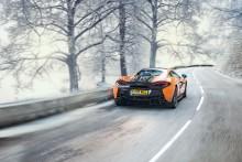 Pirelli levererar specialutvecklade vinterdäck till McLaren