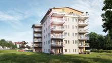 HSB bygger 21 bostadsrättslägenheter i brf Muraren i Härnösand
