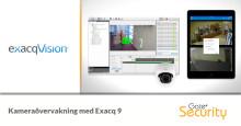 Kameraövervakning med Exacq 9