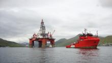 'Esvagt Don' på rig move på Færøerne