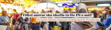 Morgonforum 27/4:  Samverkan kring Agenda 2030 - är vi beredda att offra det som krävs?