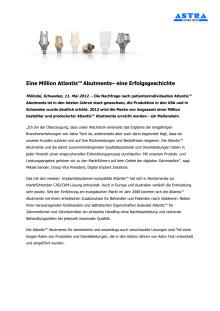 Eine Million Atlantis™ Abutments– eine Erfolgsgeschichte