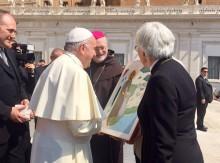 Gemensamt tack till påve Franciskus idag