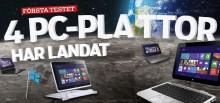 """PRESSMEDDELANDE: Så bra är de nya """"pc-plattorna"""""""