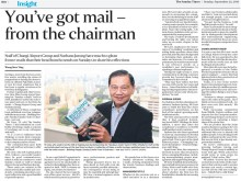 You've got mail - from the chairman