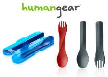 Specialdesignade sporkar från Humangear