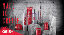 Made to create! OSiS+ – den kreative ekspert inden for alle stylingkategorier.