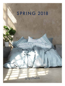 GRIPSHOLM CATALOGUE SPRING 2018
