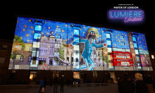 Official parking partners for Lumiere Light Festival London 2018
