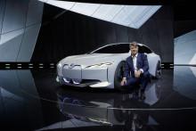 BMW på IAA i Frankfurt 2017