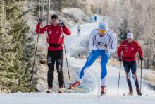 3 km skidspår i Vålådalens längdpremiär