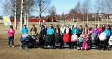 Barnvagnsmarschen 2015 i Kalix