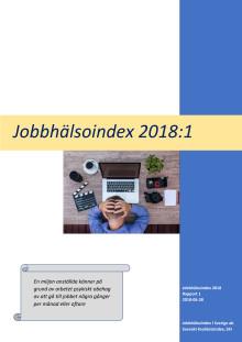 Jobbhälsoindex 2018