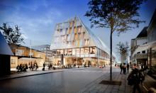 Pressinbjudan: Historiskt första spadtag för nytt stadshus och station