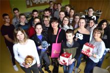 Schüler der Oberschule Mockrehna unterstützen das Kinderhospiz Bärenherz Leipzig
