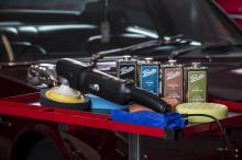 Renovera lacken med Pratts polermedel  - från Verktygsboden
