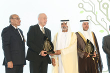 Hans Hassle, Plantagon, awarded the Khalifa International Award for Agricultural Innovation