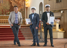 Gratulererar Sebastian Salomonsson och Mohammad Hadi Mirzaie!