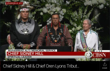 Chief Sidney Hill and Chief Oren Lyons Tribute To Muhammad Ali