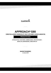 G80 produkt memo