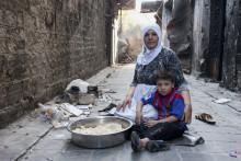 Halva befolkningen i Syrien i behov av akut hjälp