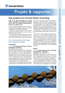 SVU:s Informationsblad Nr 2 september 2012